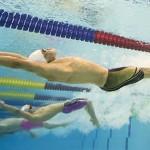 چهارمین روز شنا بازیهای آسیایی اینچئون با برگزاری چهار ماده فینال در بخش مردان برگزار شد که چین، ژاپن، سنگاپور و قزاقستان مقام های نخست را از آن خود کردند.