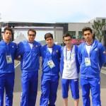 شناگر 14 ساله ایران با ثبت زمان 1 دقیقه و 6 ثانیه و 2 صدم ثانیه رکورد قبلی خود را کاهش داد اما از صعود به فینال بازماند.