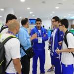 تیم ملی شنا پنج نفره ایران در هفدهمین دوره بازیهای آسیایی _ اینچئون