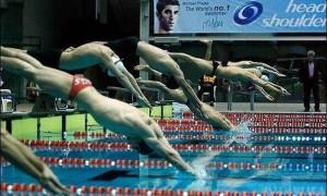 آغاز مرحله پایانی لیگ شنا