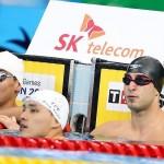 در دومین روز از بازیهای آسیایی اینچئون جمال چاوشی فر با ثبت زمان 26 ثانیه و 77 صدم ثانیه رکورد ملی ماده 50 متر کرال پشت را شکست.