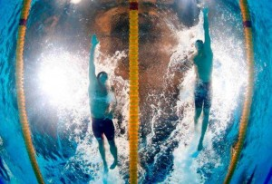 پایان گام هفتم کاپ جهانی شنا و پیشتازی لکلائوس