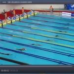 شناگر ارزنده ایران در جریان مسابقه ماده 50 متر پروانه دچار دررفتگی کتف شد و از صعود به فینال بازماند.