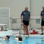 چهارمین اردوی تدارکاتی تیم ملی شنا از شنبه (۲۷ اردیبهشت) به مدت ۱۸ روز در استخر بین المللی ۹دی تهران برگزار می شود. عکاس: بهنام رنجکش