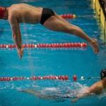 مرحله پایانی لیگ شنا (عکاس: امین خسروشاهی) سرزمین موج های آبی مشهد فاتح یازدهمین دوره رقابت های قهرمانی شنا باشگاه های کشور شد.