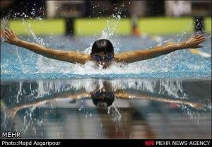 نوجوانان برتر شنا در قزوین اردو می زنند