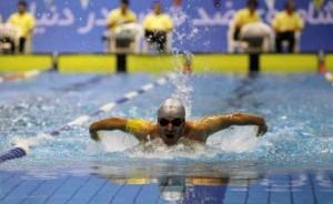 مرحله دوم لیگ شنا به پایان رسید