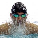 مرحله پایانی لیگ شنا (عکاس: احمد معینی جم) سری ۱ سرزمین موج های آبی مشهد فاتح یازدهمین دوره رقابت های قهرمانی شنا باشگاه های کشور شد.