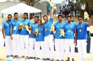 تیم ملی واترپلو ساحلی ایران در پنجمین و آخرین دیدار خود در رقابت های واترپلو بازی های آسیایی ساحلی تایلند را شکست داد و به نشان نقره دست یافت.