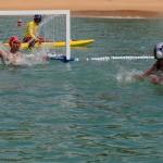 تیم ملی واترپلو ایران در چهارمین دیدار خود در چارچوب مسابقات واترپلو بازی های آسیایی ساحلی تایلند فردا (جمعه) به مصاف قزاقستان می رود.
