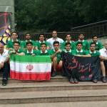 واترپلوئیست های جوان ایران در شب عاشورا به عزاداری برای سالار شهیدان پرداختند.