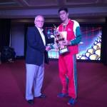 در پایان رقابت های واترپلوی قهرمانی آسیا، حامد کریمی به عنوان بهترین دروازه بان این رقابت ها معرفی شد.