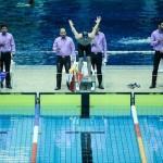 نخستین روز مسابقات شنای قهرمانی باشگاهای کشور با صدرنشینی تیم سرزمین موج های آبی مشهد به پایان رسید.
