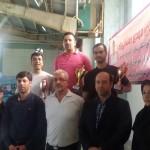 مسابقات شنای قهرمانی استان گیلان روز جمعه (هشتم اسفند) با قهرمانی تیم بندرانزلی به پایان رسید.