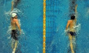 نتایج کامل روز نخست مسابقات شنای قهرمانی کشور