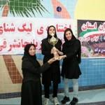 با پایان مرحله چهارم لیگ شنای بانوان استان آذربایجان شرقی تیم استخر29بهمن تبریز قهرمان شد.