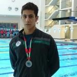 ملی پوش شنای ایران با درخشش در ماده 50 متر  آزاد به نشان نقره مسابقات بین المللی دبی دست یافت.