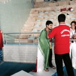 جشنواره شنای کودک رومی امروز(چهارشنبه) به پایان رسید و تیم ملی ایران موفق به کسب مقام سوم مسابقات شد.