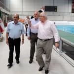 دو عضو ارشد فینا با حضور در مجموعه ورزشی شهید شیرودی، استخر 9 دی را برای میزبانی رقابت های توسعه جهانی تائید کردند.