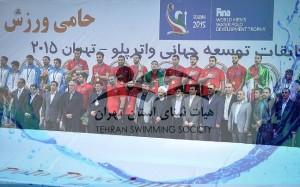 پیام مسئولان هیئت شنای تهران و گیلان برای قهرمانی واترپلو