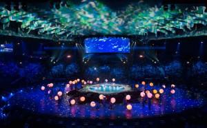 مسابقات جهانی کازان 2015 افتتاح شد
