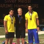 در روز دوم مسابقات بین المللی شیرجه اتریش حمید کریمی و شهنام نظرپور موفق به کسب نشان نقره و برنز تخته سه متر شدند.