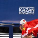 هفدهمین و آخرین روز از مسابقات قهرمانی جهان فینا (کازان2015) با برگزاری هشت ماده فینال و معرفی چین به عنوان تیم قهرمان به پایان رسید.