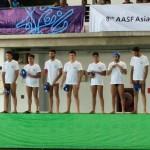 تیم ملی واترپلوی ایران در سومین بازی مقدماتی خود در مسابقات زیر 17 سال آسیا اندونزی را شکست داد.