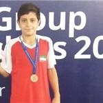 شیرجه روی ایرانی در تخته سه متر مسابقات رده سنی آسیا به مدال برنز رسید.