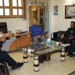 رئیس اداره ورزش و جوانان شهرستان فلاورجان با حضور در هیات شنای استان اصفهان با مهرزاد خلیلیان دیدار و گفتگو کرد.