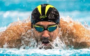شنای خارق العاده مایکل فلپس + ویدئو