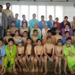 مسابقات شنای انتخابی استان کرمانشاه به مناسبت دهه مبارک فجر برای رده های سنی زیر 14 سال اول و دوم بهمن 1394 برگزار شد.