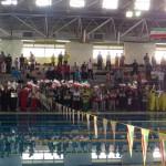 مسابقات شنا جام فجر پارسیان رده سنی۱۲-۱۱ و ۱۴-۱۳ سال دیروز (سه شنبه) در استخر انقلاب شیراز آغاز شد.