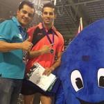 ملیپوش شیرجه که به تازگی از مسابقات جام آیندهوون هلند با طلای 10 متر این رقابتها به ایران بازگشته است و خود را برای کسب سهمیه المپیک ریو آماده میکند یکی از دلایل موفیقت خود را تمرینات و مسابقاتش در اتریش دانست.