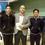 در روز پایانی سیزدهمین دوره مسابقات شنای قهرمانی باشگاه های کشور (جام خلیج فارس)علی فتحی و بنیامین قره حسنلو به ترتیب دو و یک رکورد رده های سنی 14-13 و 17-15 سال را جابجا کردند.