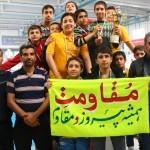 تیم باشگاه مقاومت به مقام قهرمانی دومین دوره لیگ شنای استان اصفهان رسید.