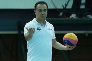 قضاوت یک ایرانی در واترپلو المپیک بعد از 16سال