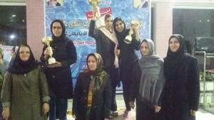 قهرمانی 29بهمن الف در لیگ شنای بانوان آذربایجان شرقی