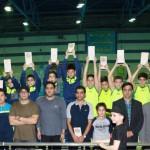 جشنواره شنا مسافت کوتاه پسران زیر ۱۰ سال تحت عنوان ((جام بزرگداشت عید باستانی نوروز)) با قهرمانی تیم امير مرشد البرز به پایان رسید.