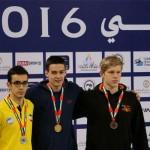 روز چهارم و پایانی ششمین دوره مسابقات بین المللی شنای دبی امروز (پنج شنبه) با حضور نمایندگان ایران برگزار می شود.