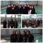 نفرات برتر  مسابقات شنای بانوان تحت عنوان جشنواره شنای مادران سالم استان تهران مورخ 27 فرودین 1395 معرفی شدند.