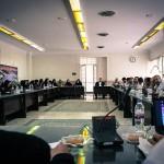 نخستین روز از اولین دوره هماندیشی مدرسان شنا در سال ۱۳۹۵ امروز (شنبه) در سالن جلسات دفتر امور مشترک فدراسیون های ورزشی برگزار شد.