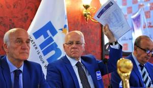 خسرو امینی مسئول برگزاری واترپلو در المپیک 2016