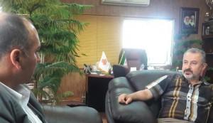 دیدار رئیس فدراسیون شنا با مدیرعامل جدید باشگاه فرهنگی ورزشی سایپا