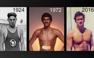 چرا فیزیک بدنی شناگران نسل به نسل تغییر میکند؟