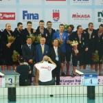 تیم ملی صربستان با غلبه بر آمریکا در دیدار فینال، برای چهارمین بار متوالی قهرمان لیگ جهانی واترپلو شد.