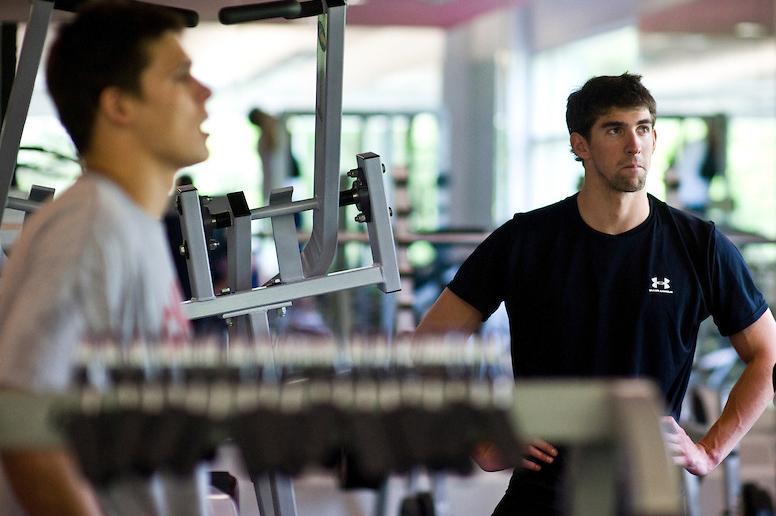Michael Phelps North Baltimore Aquatic Club practice