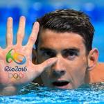 ستاره آمریکایی با کسب بیست وسومین طلا خود در المپیک به کار خود در ریو پایان داد.