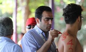 مسابقات شنای آبهای آزاد مریوان برگزار شد