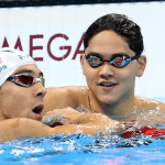 یک شناگر سنگاپوری با رکورد شکنی در ماده 100 متر پروانه المپیک در حضور مایکل فلپس شگفتی خلق کرد.